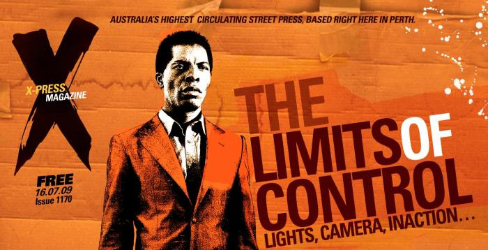 X-Press Magazine Cover - Limits of Control